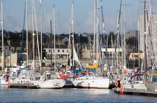 Le port de plaisance de Chantereyne © JCG
