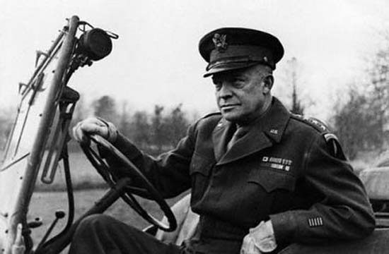 Dwight David Eisenhower, commandant en chef des forces alliées en Europe