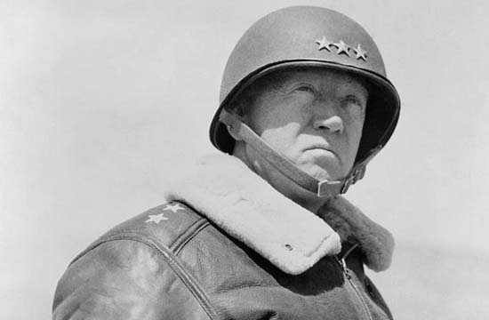 Lieutenant Général George Smith Patton Jr, 1943 © U.S. Army Signal Corps